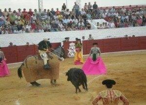 Festejo taurino en la localidad de Herencia Ciudad Real.Mari Carmen Ram%C3%ADrez 300x215 - Con la vida por montera. La importancia de hacerlo en un pueblo