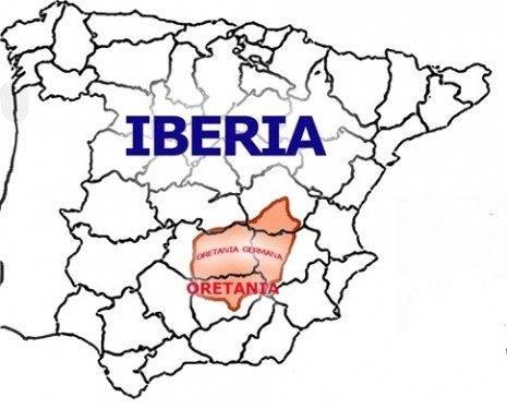 IBERIA ORETANIA 465x375 - Herencia en los mapas