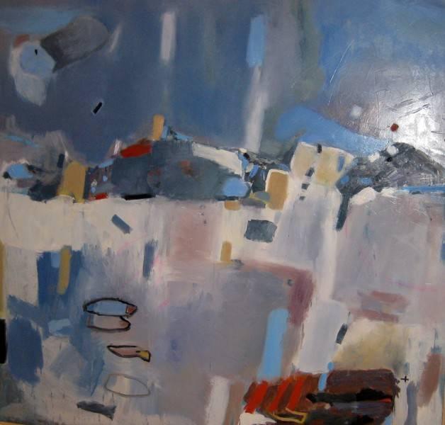 Peces de Ciudad Obra de José Ángel Martín Viveros - José Ángel Martín-Viveros gana el segundo premio del XVI Certamen Internacional de Pintura 'Ciudad de Alcázar'