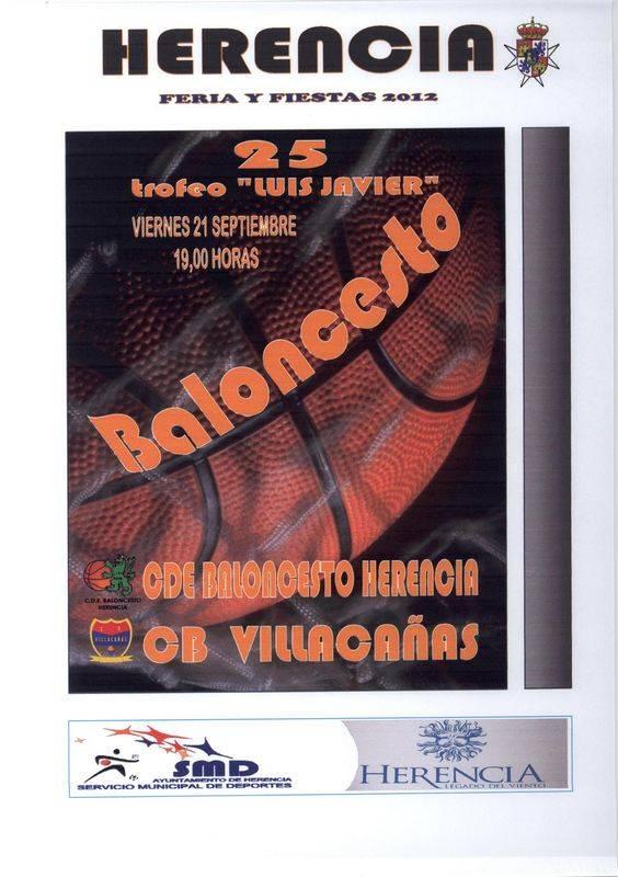 Torneo Luis Javier de baloncesto_Feria 2012