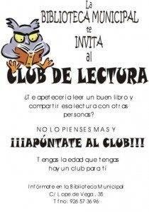 club lectura herencia 210x300 - Abierto el plazo de inscripción para los Clubes de Lectura