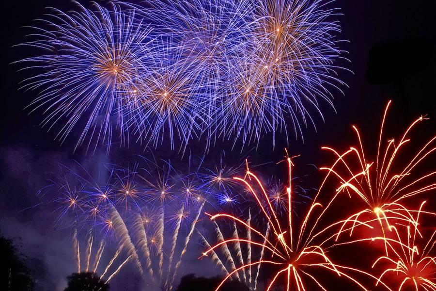 fuegos artificiales - Programa de actos de la feria y fiestas de Herencia 2012