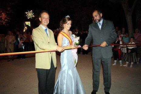 corte cinta inaugural pregonero reina y alcalde