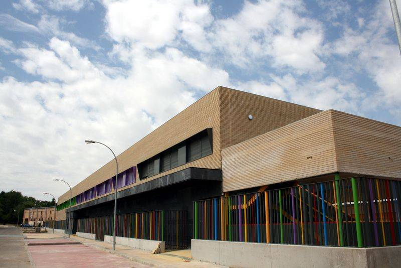 "Nuevo edicifio del colegio ""Carrasco Alcalde"""