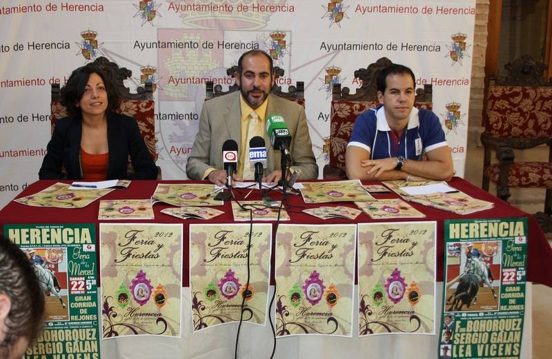 Lola Fernánde, Jesús Fernandez y Sergio García