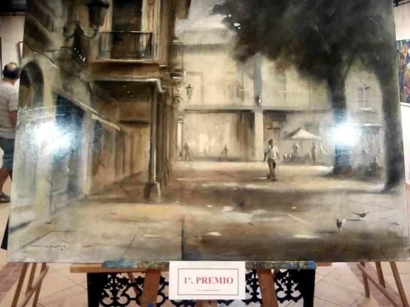 """herencia pintura rapida 1 premio - Javier Martín Aranda gana el VI Certamen de Pintura Rápida """"José Higueras"""""""
