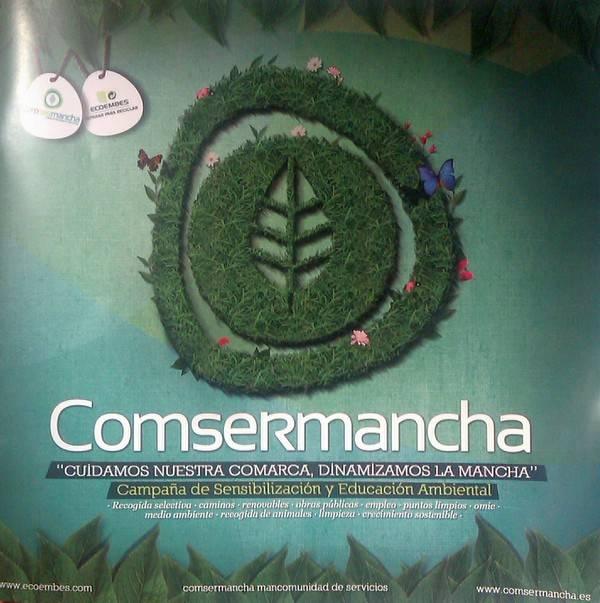Campaña de Sensibilización Ambiental de Comsermancha - Comsermancha inicia una campaña de Sensibilización y Educación Ambiental en Herencia