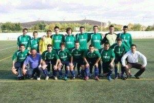 Equipo de F%C3%BAtbol Juvenil de Herencia 300x201 - Herencia es un fortín. Crónica de la Séptima Jornada de Fútbol Juvenil frente al Puertollano