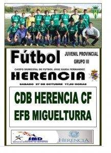Futlbol juvenil Herencia 217x300 - En la segunda parte, salió el sol. Nueva victoria del Herencia Juvenil de fútbol