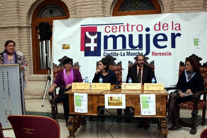 Jornadas de la Mujer Rural en Herencia - Celebradas las jornadas de la Mujer Rural en Herencia
