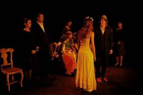 Bodas de Sangre representada por la Escuela de Teatro Mala-saña