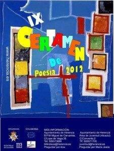 cartel certamen poesia Herencia 226x300 - Convocado el Noveno Certamen Nacional de Poesía