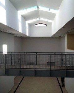 Interior del nuevo edificio de la Escuela de Música de Herencia