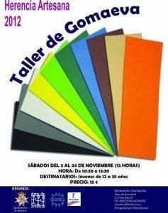 taller goma eva 237x300 - Abierto el plazo de inscripción para el Taller de Goma Eva del área de Juventud