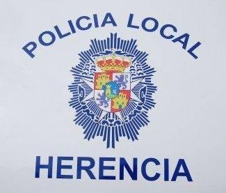 Escudo de la policía local de Herencia