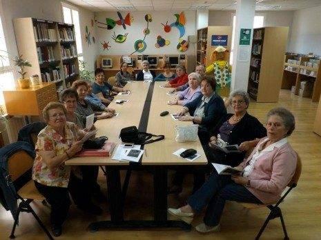 Herencia club lectura Dulcineas 465x348 - Los club de lectura de Herencia se consolidan como una de las principales ofertas culturales de la localidad