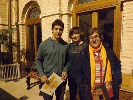 SERGIO GONZÁLEZ SAN MIGUEL segundo premio modalidad A Certamen de Poesía 2012 de Herencia 465x348 - Celebrada la entrega de premios del IX Certamen de Poesía de Herencia