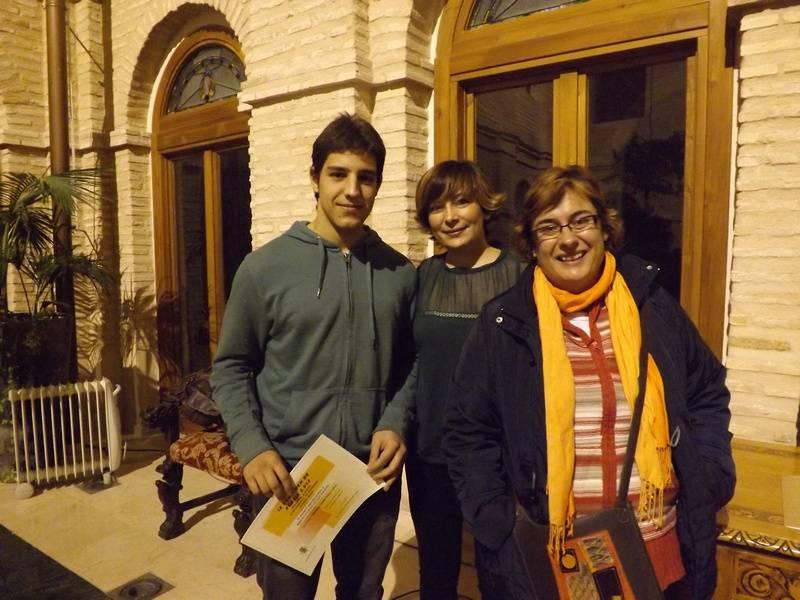 SERGIO GONZÁLEZ SAN MIGUEL segundo premio modalidad A Certamen de Poesía 2012 de Herencia - Celebrada la entrega de premios del IX Certamen de Poesía de Herencia