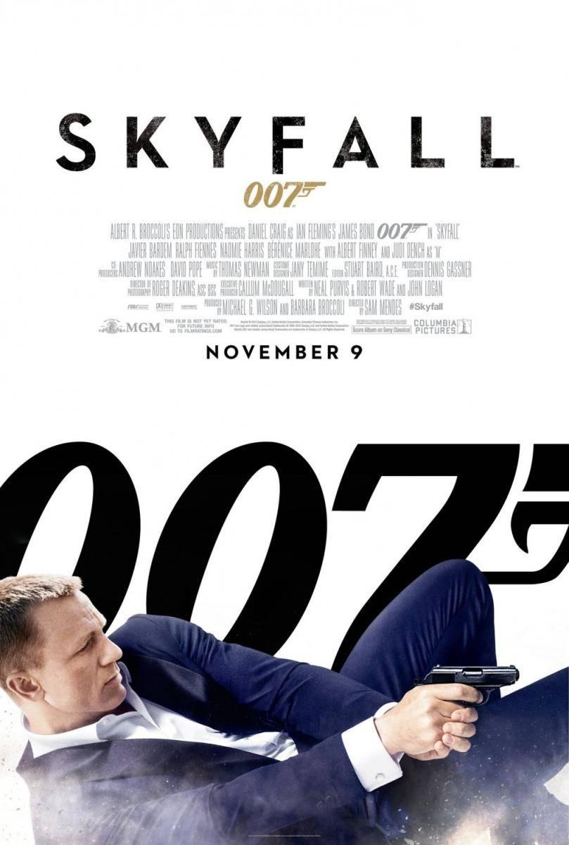 Skyfall - Cartelera Cinemancha del viernes 9 al jueves 15 de noviembre.