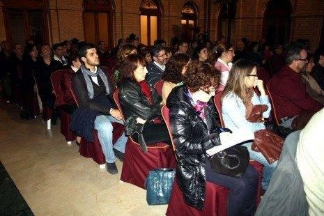 Público asistente al X Festival del Aprendizaje de Herencia