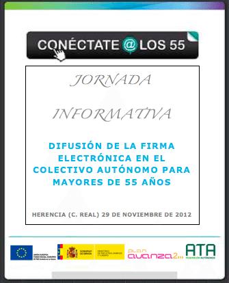 """conectate a los 55 - Aprende a utilizar el certificado digital y eDNI con """"Conectate a los 55"""""""