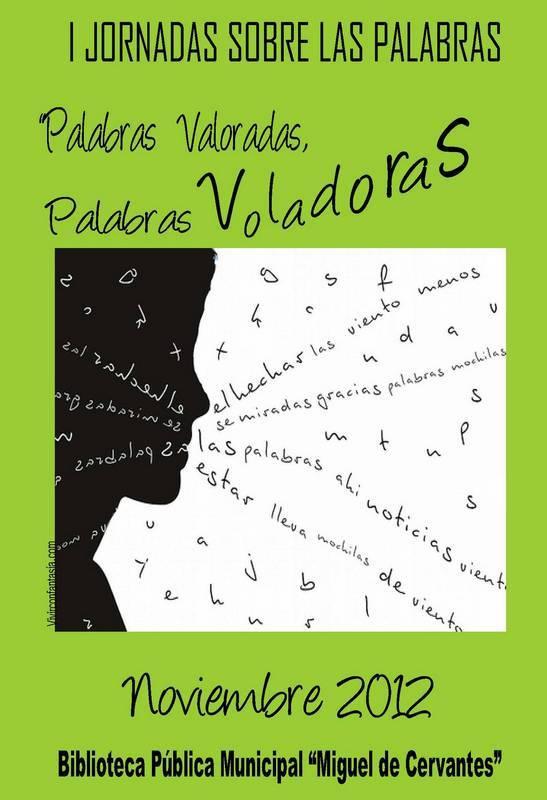 herencia palabras voladoras a cartel - Palabras voladoras es la propuesta para noviembre de la biblioteca de Herencia