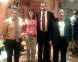 toros herencia a 300x240 - Lea Vicens recibió la insignia de la Peña Taurina Anillo 2008
