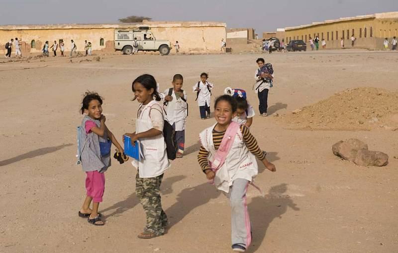 Niños saharauis