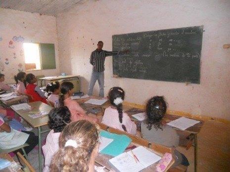 Educaci%C3%B3n saharaui1 465x348 - La Asociación de Amigos del Pueblo Saharaui organiza una casa del terror para los más atrevidos