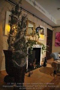 Exposición Cuento de Navidad_Decoración de Interiores de la UP (29)
