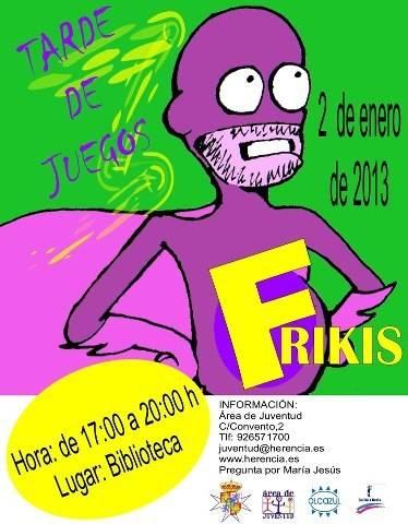 Juventu organiza una tarde de juegos Frikis en la biblioteca - Tarde de juegos frikis en la biblioteca