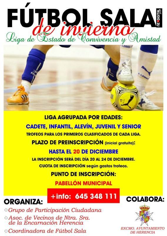 Liga de Fútbol Sala de Invierno de Herencia