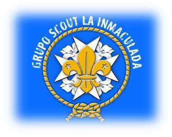 Logotipo del Grupo Scout de la parroquia Inmaculada Concepción de Herencia