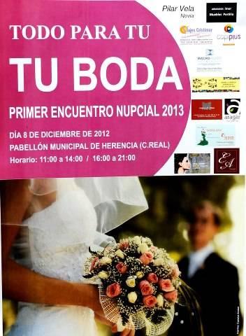 Todo para tu boda - Primer encuentro nupcial 2013 en Herencia