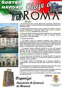 cartel viaje roma asociaci%C3%B3n comercio herencia 212x300 - La asociación de comercio de Herencia sortea un viaje a Roma