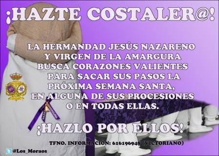 hazte costalero - Nueva campaña de captación de costaleros en la Hermandad de Jesús Nazareno
