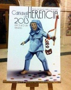 herencia cartel carnaval a 239x300 - Presenta tus propuesta para el Cartel de Carnaval de Herencia 2014