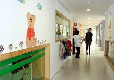 Interior de la Escuela Infantil de Herencia