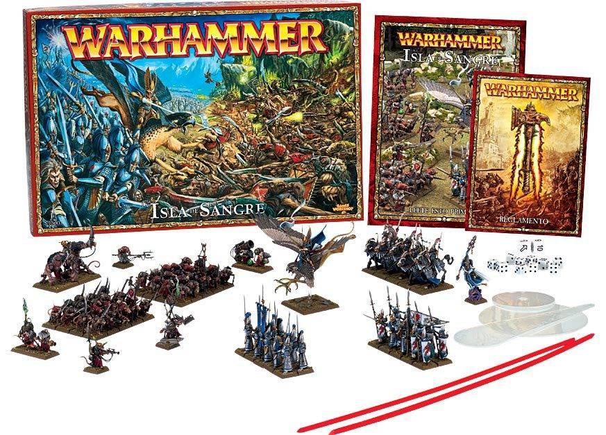 warhammer isla de la sangre - Cajón Desaste organiza varios torneos de Warhammer durante la Navidad
