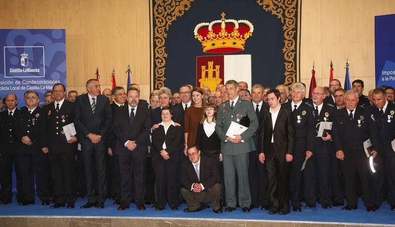 Acto de imposición de Condecoraciones Policía Local de Castilla-La Mancha