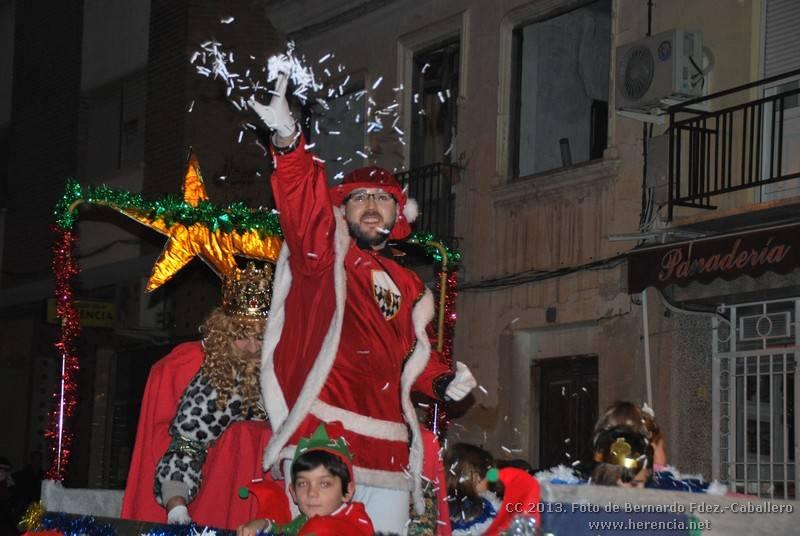 Cabalgata de Reyes Magos en Herencia 2013 10 - Herencia se llenó de ilusión con una vistosa Cabalgata de Reyes Magos