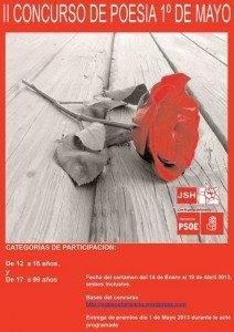 Concurso Poesía 1º de Mayo Psoe Herencia 212x300 - Convocado el II Concurso de poesía 1º de Mayo