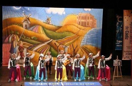 Herencia Los Pelendengues al comienzo en Cadiz carnaval 465x302 - Los Pelendengues vuelven a Cádiz en pro de un Carnaval de Interés Turístico Nacional