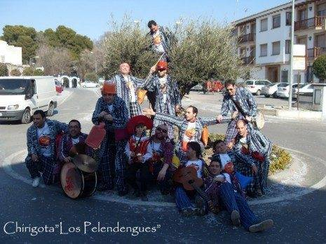 """Chirigota """"Los Pelendengues"""""""