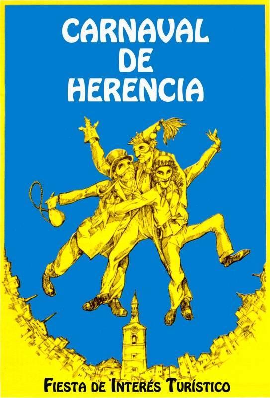 Portada de la guía turística del Carnaval de Herencia que será presentada en Fitur 2013