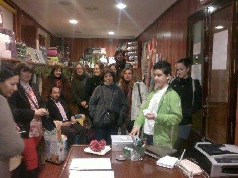 Sorteo del Viaje a Roma 465x348 - Ana Belén Callejas gana el viaje de la asociación del Comercio de Herencia