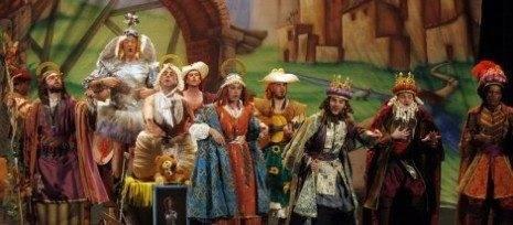 Los Pelendengues en el Teatro Falla