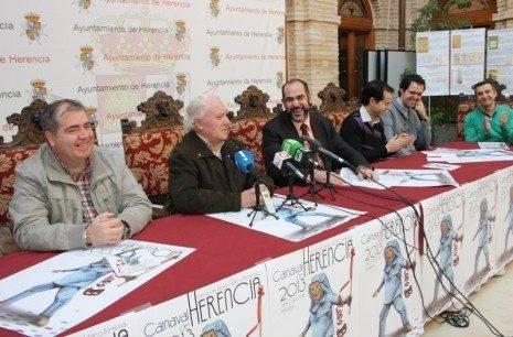 Presentación del programa de actos del Carnaval de Herencia 2013