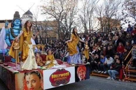 Desfile del Ofertorio del Carnaval de Herencia