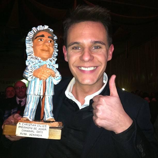 """Tú sí que sirves"", Christian Gálvez en una espectacular noche de pregón de Carnaval 1"